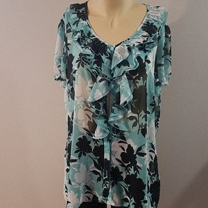 East 5th size X-large blouse